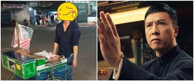 Viral penjual es tung tung mirip Donnie Yen bintang IP Man