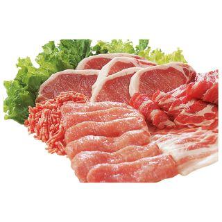 〈国内産〉ガーリック豚などの豚うすぎり肉 ロース