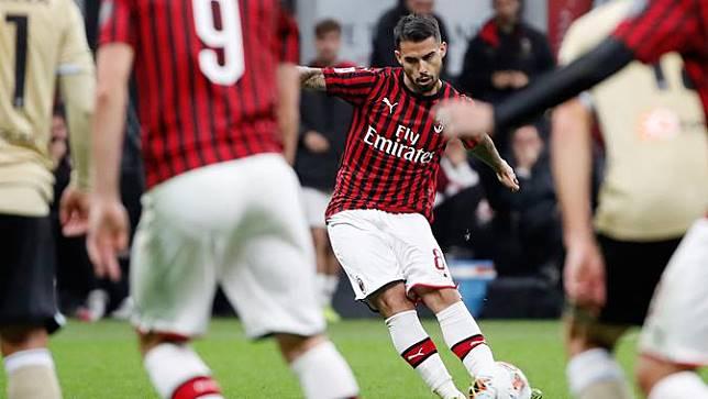 AC Milan Menang Tipis Lawan SPAL