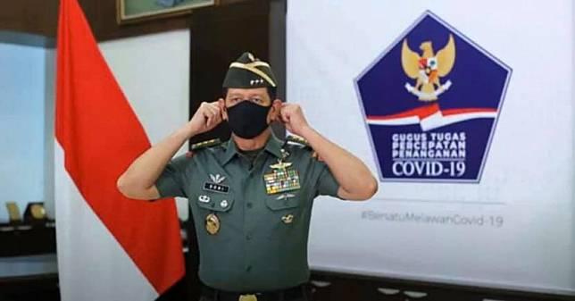 Kepala Badan Nasional Penanggulangan Bencana (BNPB), Letnan Jenderal (Letjen) Doni Monardo.