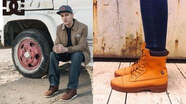 致敬藍領 DC Shoes 的 60 年代美式工裝異世界