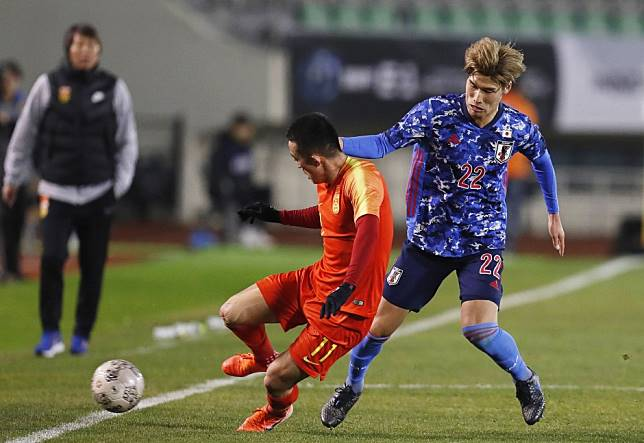 EAFF: Japanese media sees red over China player's X-rated tackle in Busan match