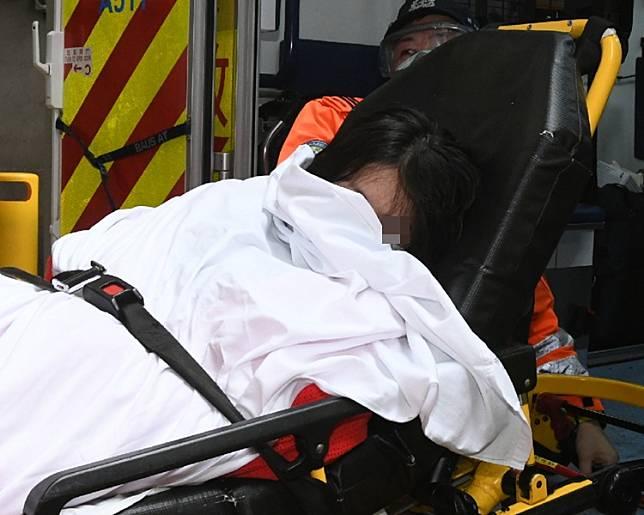案中另一名女子報稱受傷。