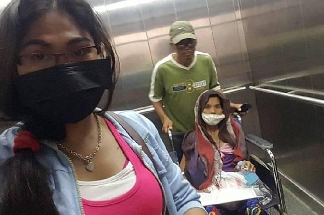 Christina Ombao, 39 tahun, didiagnosa mengalami kanker payurada. Sumber: Viral Press/mirror.co.uk