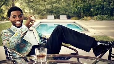 《黑豹》男主角查德威克·鮑斯曼爆料,當初電影設定瓦甘達人都要有英國腔發音