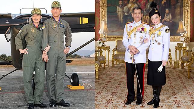 ในหลวง พระราชทานพระบรมฉายาลักษณ์คู่พระราชินี สง่างามสมพระเกียรติ