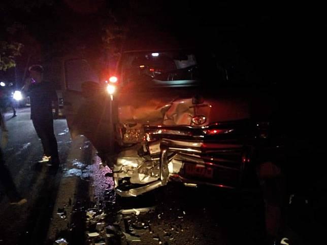 อุบัติเหตุ ! รถตู้