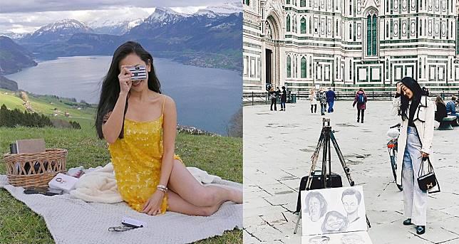 กินลมชมวิว! เที่ยวยุโรปเช็คอิน 5 จุดท่องเที่ยว ตามรอยนางเอกสาว 'นุ่น วรนุช'