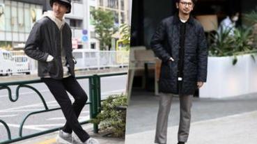 本季必備時髦單品!以「絎縫外套」混搭打造日系型男魅力