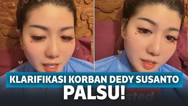 Netizen Buktikan Klarifikasi Korban Dedy Susanto Palsu