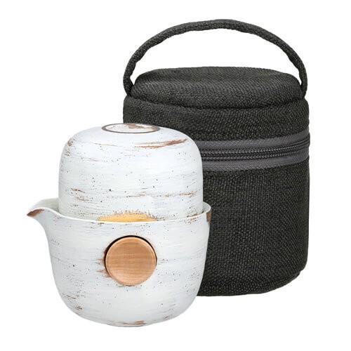 結合所有茶器為一體,輕便隨行組輕巧易收納,好攜帶居家、旅遊、辦公皆宜產品內容:【Eilong 宜龍】微曦系列QUICKER布包旅行組150ml(限量款)規格說明:高級瓷器、山毛櫸木商品容量:壺身:15