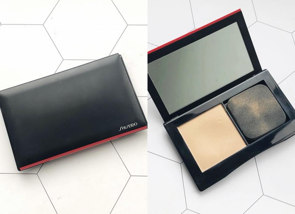 專櫃控油粉餅推薦1:Shiseido 資生堂 超進化持久粉餅 9g,NT.1500(盒+蕊)