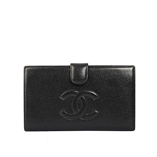 品牌:CHANELn產品狀況:二手商品(9成新)n顏色:黑色