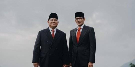 Foto Prabowo-Sandiaga di Akun Instagram. ©2019 Instagram