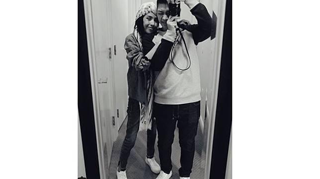 Adara dan Rasyid (Instagram)