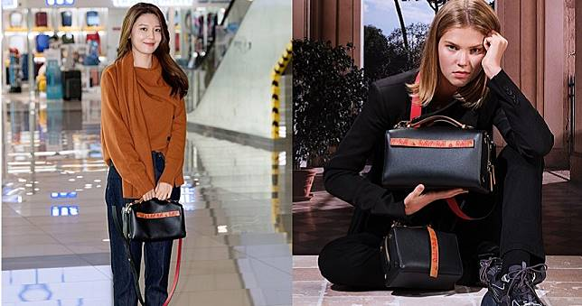 韓國女星&少女時代秀英搶先曝光MCM歐風系列手袋 休閒優雅的機場時尚一秒抓鏡