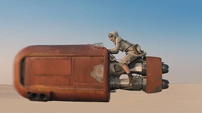 Speeder di 'Star Wars'. (Foto: Star Wars)