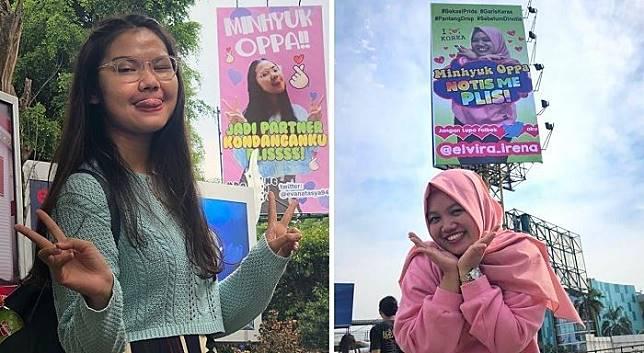Billboard Minhyuk Kembali Muncul, Netizen Duga Cuma Kerjaan Ahensi