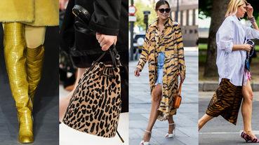 2019秋冬穿搭一定要有「動物紋」!13款斑馬紋、豹紋、蟒蛇、鱷魚紋單品推薦