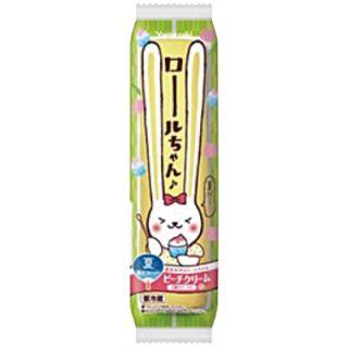 ロールちゃん(白桃ゼリー&ピーチクリーム)