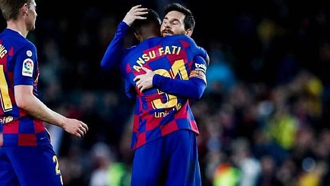 Man United Naikkan Tawaran untuk Bajak Penerus Messi dari Barcelona