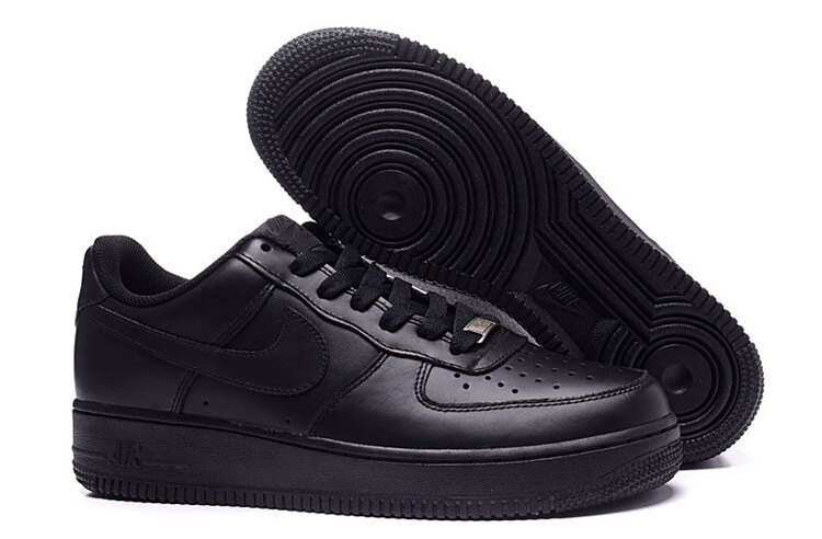 Nike Air Force 1 全黑空軍一號 男女鞋