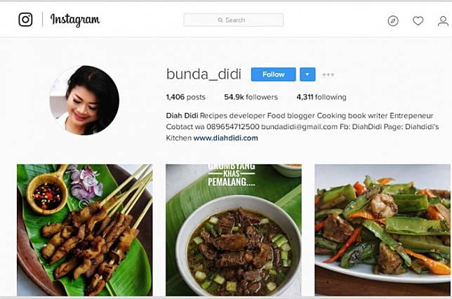 4 Ibu yang Banyak Berbagi Resep Masakan di Media Sosial