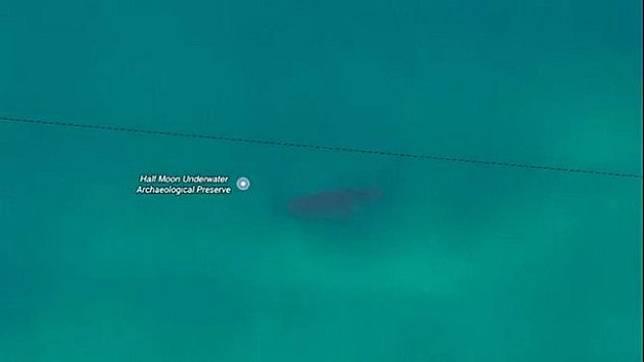 3 Fakta Kapal Besar Karam yang Tertangkap Google Maps di Pantai Cikembang Sukabumi