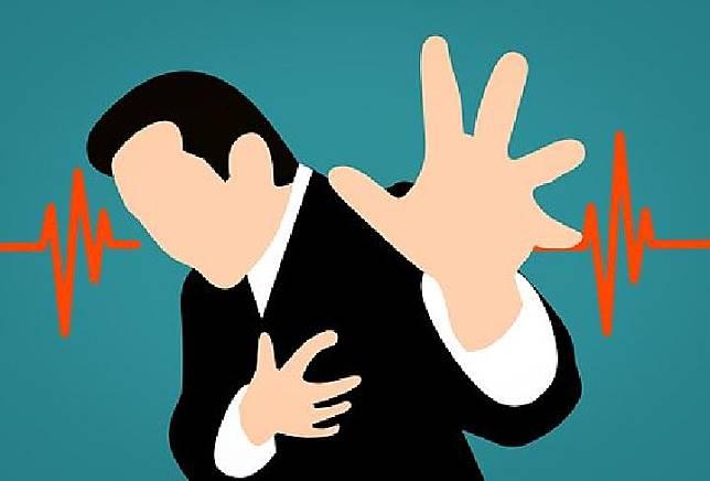 Ilustrasi serangan jantung (pixabay.com)