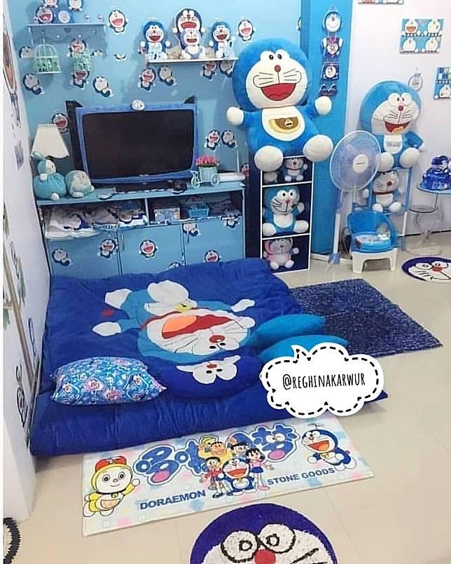 Penggila Doraemon Rumah Di Sulawesi Ini Penuh Pernak Pernik