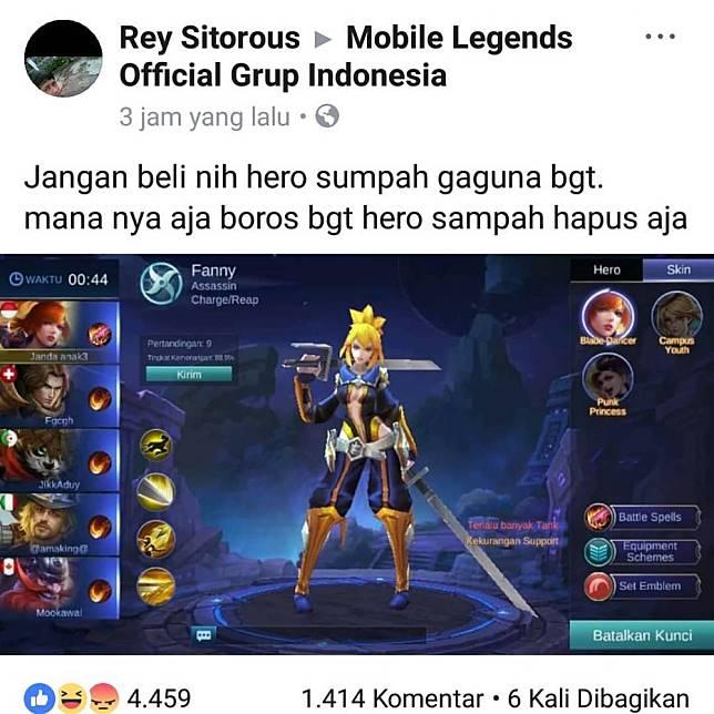 40 Meme Mobile Legend Ini Lucunya Cuma Gamer Yang Paham
