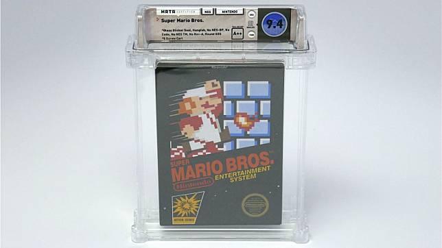 ตลับ Super Mario Bros. สภาพดีที่สุด ทำลายสถิติเป็นเกมที่ขายได้ราคาแพงที่สุดในโลกแล้ว