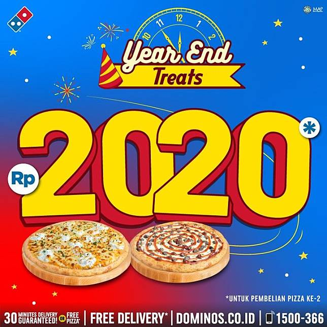 Domino S Pizza Promo Year End Treats