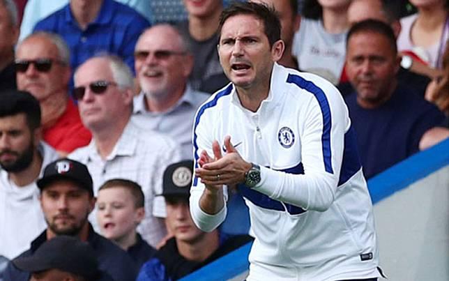 Pelatih Chelsea Frank Lampard/Reuters/Eddie Keogh