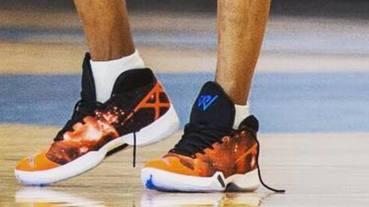 選手實著 / Russell Westbrook 練球期間著用 Air Jordan XXX 'Cosmos' 專屬版本