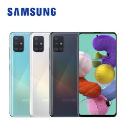 ◎4800萬高畫素 超強4鏡頭|◎超微距鏡頭 Fun大你的視界|◎4000mAh 大電量 (快充)品牌:Samsung三星種類:智慧手機型號:A51特色:臉部辨識,雙卡雙待機,支援4GLTE,指紋辨識