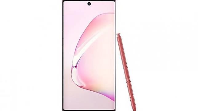 Samsung Galaxy Note 10 Aura Pink. [Samsung Indonesia]