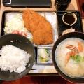 尾アジフライランチ - 実際訪問したユーザーが直接撮影して投稿した代々木魚介・海鮮料理いかの墨 新宿駅南口マインズタワー店の写真のメニュー情報