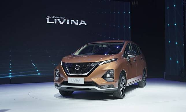 All New Nissan Livina merupakan MPV yang dibangun di atas basis yang sama dengan Mitsubishi Xpander