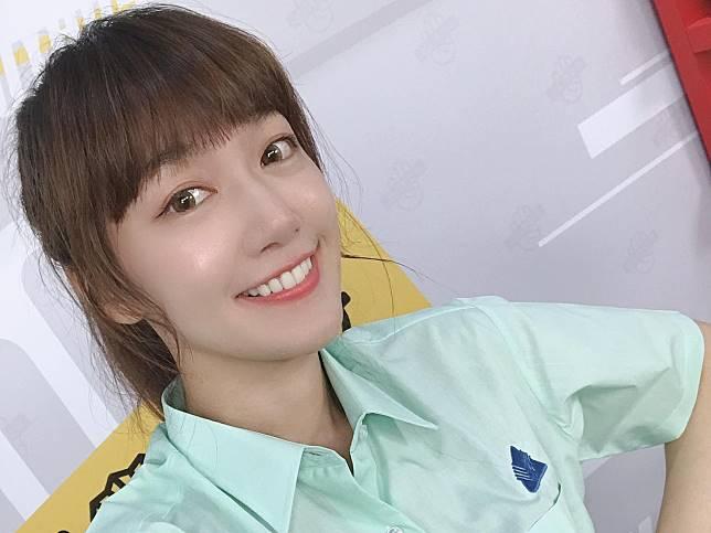 ▲有著甜美外表的女星泱泱廣受網友喜愛。(圖/泱泱臉書)