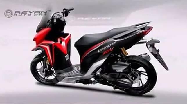 Modifikasi Honda Vario 150 ala-ala ADV150.