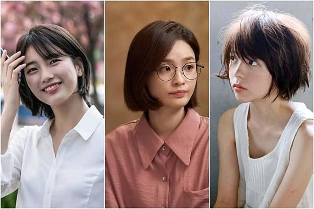 8 Gaya Rambut Pendek Ala Korea Untuk Perempuan Usia 30 An Agar Terlihat Muda Womantalk Com Line Today