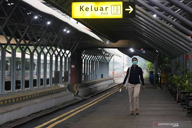 Imbas PSBB, KAI Surabaya hanya jalankan dua kereta ke Jakarta