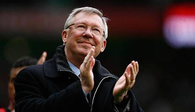 Pelatih legendaris Manchester United, Sir Alex Ferguson (Foto: The Sun)