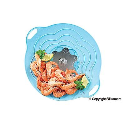 可蒸煮料理 兩用多功能鍋蓋 可拆式透明蓋,讓你隨時檢查烹飪狀況,同時可排除多餘的水蒸氣 無須再擔心沸騰溢水 適用於直徑22cm以下的鍋具