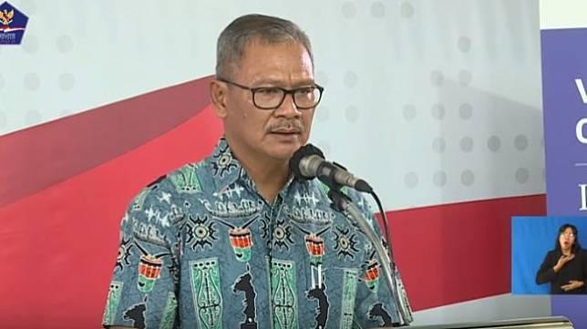 Juru Bicara Pemerintah untuk Penanganan Covid-19 Achmad Yurianto (Capture Youtube BNPB Indonesia)