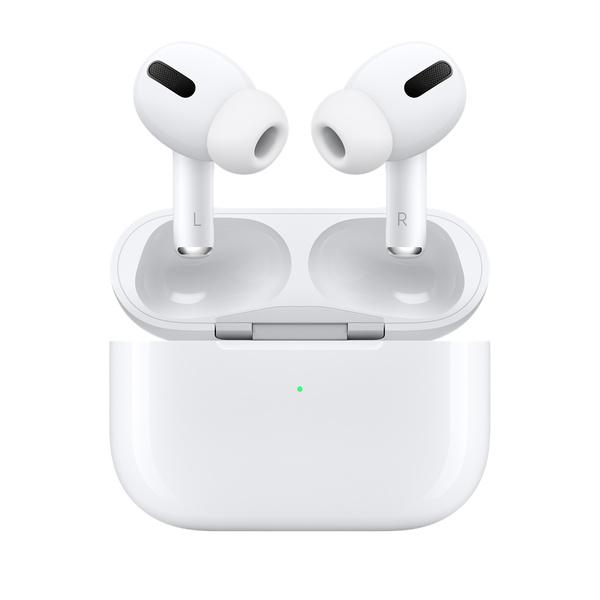 AirPods Pro 是款獨一無二,具備「主動式降噪」功能的入耳式耳機,它可針對你耳道內的幾何結構和耳塞套的貼合度持續進行調節,以隔絕外界噪音,讓你全心專注於正在聆聽的內容。降噪功能以每秒 200