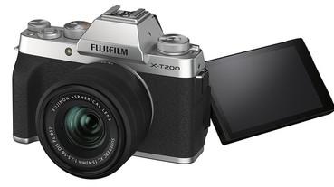 富士發表 X-T200 入門無反相機,輕量僅重 370g