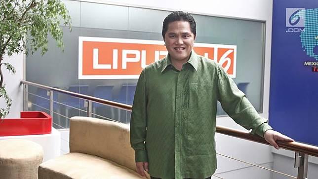 Safari Media, Erick Thohir Sambangi Kantor Liputan 6