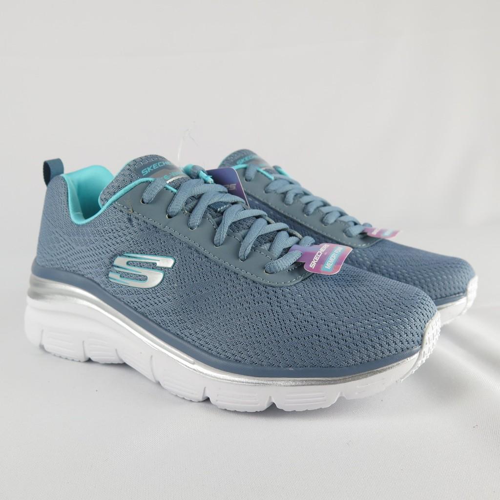 Skechers FASHION- FIF - BOLD 健走鞋 正品 12719SLT 綠 女款【iSport愛運動】